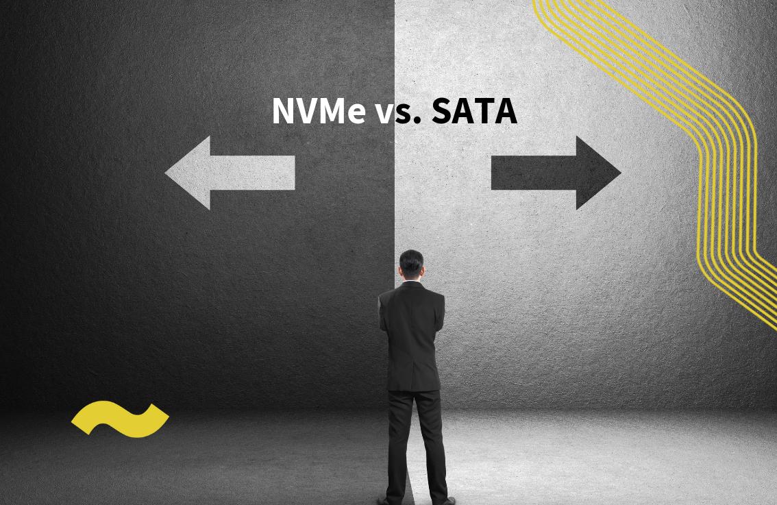 NVMe vs. SATA SSD